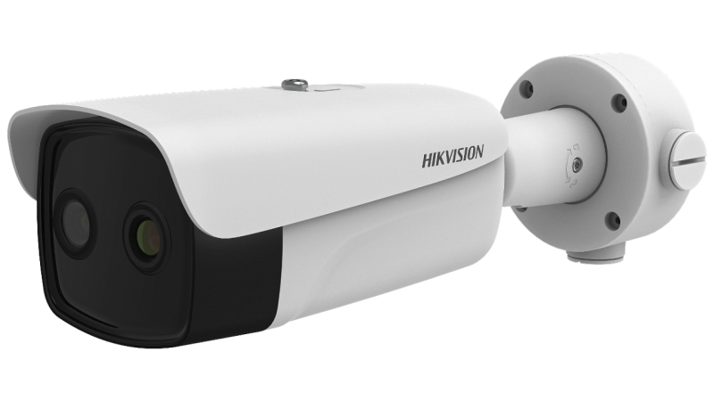 Hikvision DS-2TD2636B-15/P Thermographic Bullet Body Temperature Measurement Camera