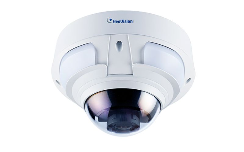 Geovision GV-VD4711 4MP H.265 4.3x Zoom Super Low Lux WDR Pro IR Vandal Proof IP Dome (2.8 ~ 12mm)