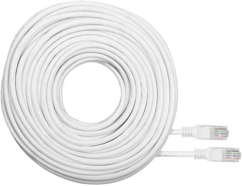 Jetview JE-RJ45-6 RJ45 Cat6 Network Ethernet Cable – 60 Feet (18.2 Meters)