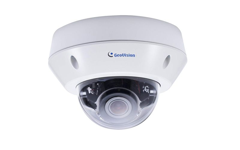 Geovision GV-VD2712 Starlight 2MP H.265 4.3x Zoom Super Low Lux WDR Pro IR Vandal Proof IP Dome (2.8 ~ 12mm)
