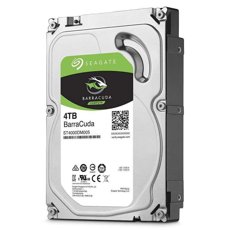 Seagate SkyHawk 3.5-Inch SATA 6 Gb/s 64Mb Cache Internal Hard Drive (1 to 12TB HDD option)