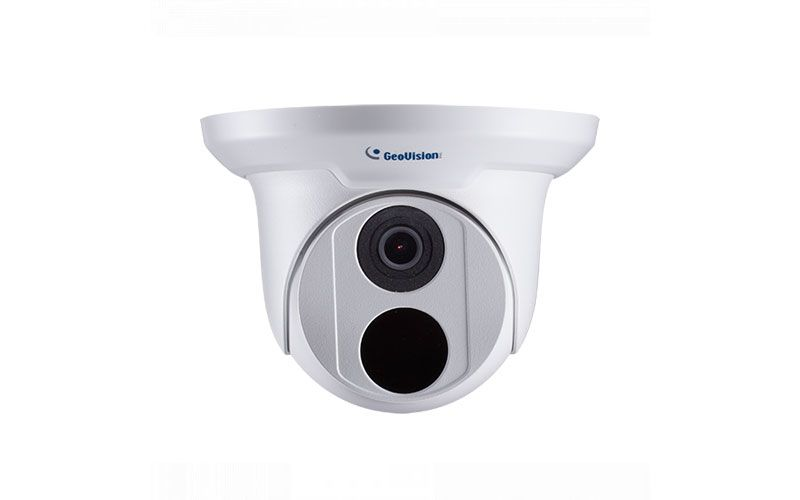 Geovision GV-EBD2702 2MP H.265 Low Lux WDR IR Eyeball IP Dome (2.8mm)