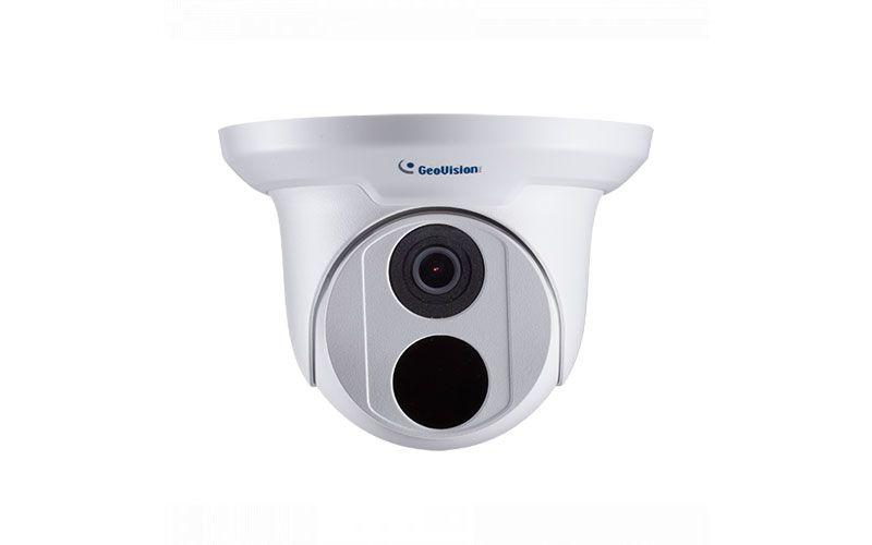 Geovision GV-EBD4701 4MP H.265 2.8mm IR Eyeball Dome, WDR Pro, IP66