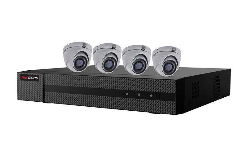 EKT-K41T24 - Hikvision 2MP Value Express TurboHD Kits (DVR-1TB + 4 Cameras)
