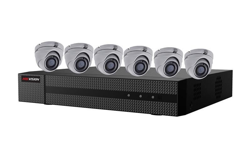 EKT-K82T26 - Hikvision 2MP Value Express TurboHD Kits (DVR-2TB + 6 Cameras)