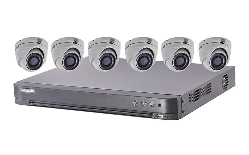 Hikvision T7208U2TA6 5 MP TurboHD Kits