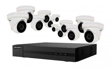 EKI-K164D412 - Hikvision 4K Value Express Kits(NVR-4TB + 12 Cameras)