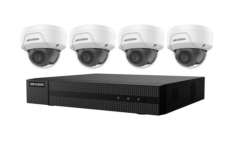 EKI-K41D44 - Hikvision 4K 4-Channel Value Express Kits(NVR-1TB + 4 Cameras)
