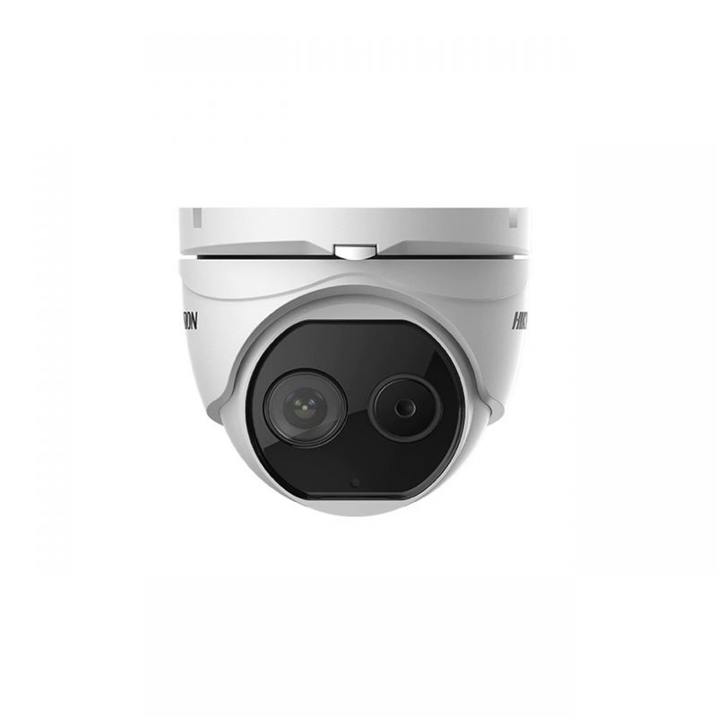 Hikvision DS-2TD1217-2/PA Thermal & Optical Network Turret Camera (1.8mm)