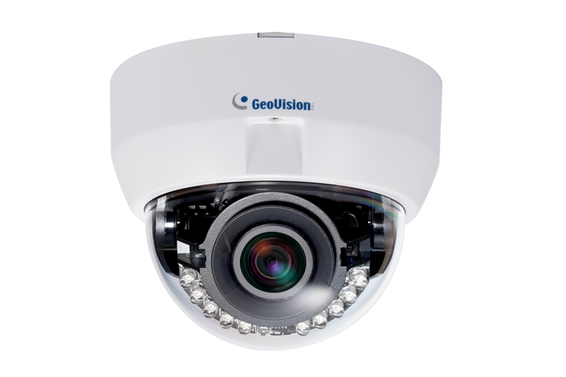 Geovision GV-FD8700-FR 8MP H.265 Low Lux WDR IR Fixed IP Dome