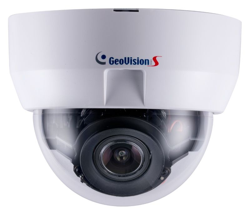 GV-MD8710-FD 8MP H.265 2x Zoom Low Lux WDR Prof Face Detection Motorized IR IP Dome