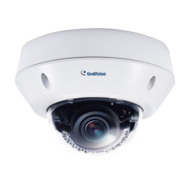 Geovision GV-VD8700 8MP H.265 Face Recognition Low Lux WDR IR Vandal Proof IP Dome