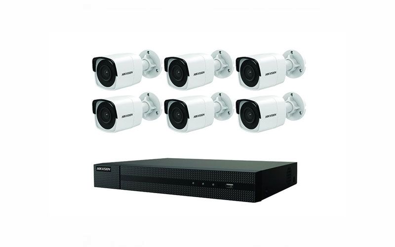 Hikvision EKI-K82B86 4K Value Express Kit (NVR-2TB + 6 Cameras)