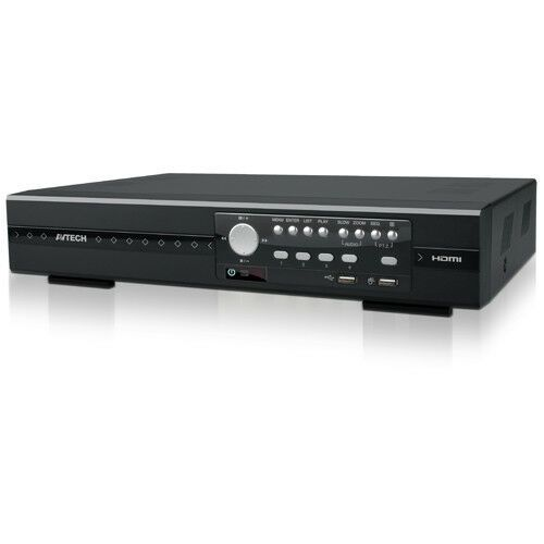 AVTECH AVZ408 8CH 5MP Pentabrid Real-time IP/HD/TVI/CVI/960H DVR (/w 1TB)