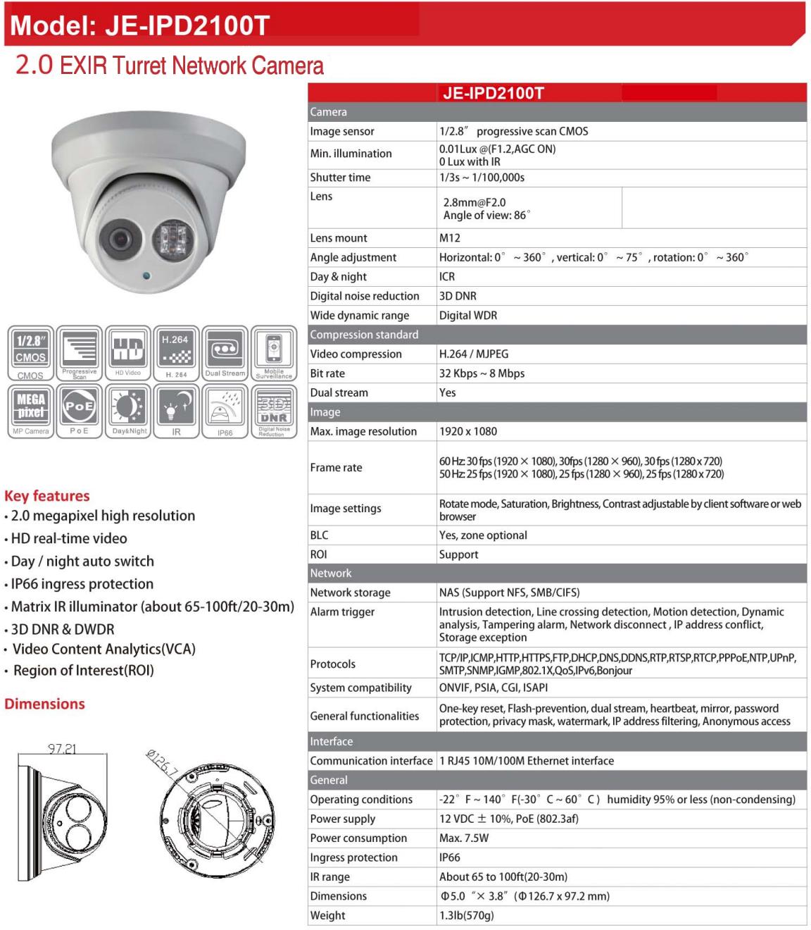 JE-IPD2100T Data Sheet